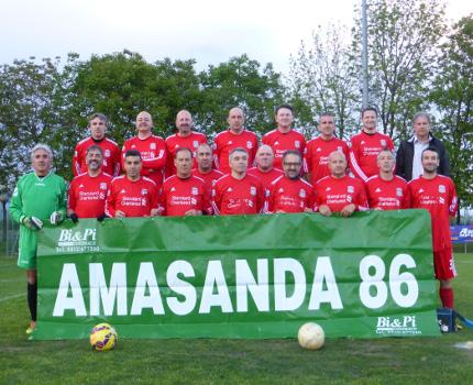 Torneo over 50, se lo aggiudica l'Old Amasanda. Strepitoso Baron!