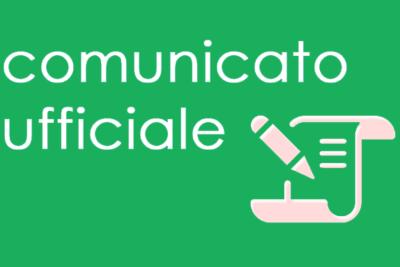Comunicato Ufficiale nr. 38 del 09/06/2016