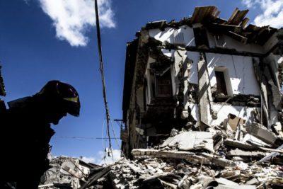 Solidarietà terremoto Amatrice 24 agosto 2016
