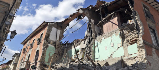 solidarietà terremoto