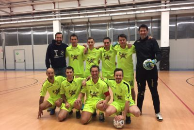 Campionato amatori c5: Real Pittibull travolgenti!