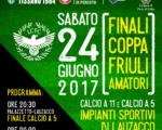Sabato 24 giugno, a Lauzacco, si decideranno i re di Coppa