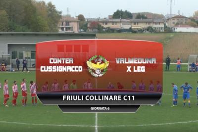 VIDEO: Contea di Cussignacco – Valmeduna X leg