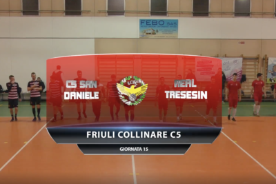 VIDEO: C5 San Daniele – Real Tresesin