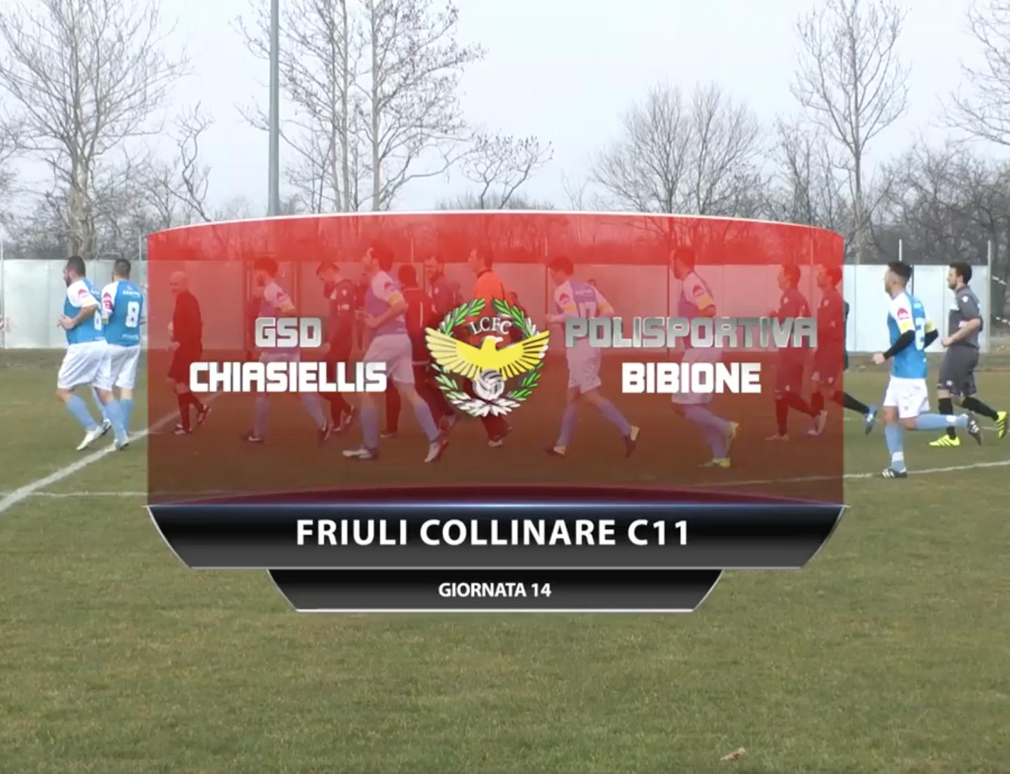 VIDEO: GSD Chiasiellis VS Polisportiva Bibione