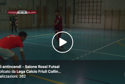 Video: Friuli antincendi – Salone Rossi Futsal