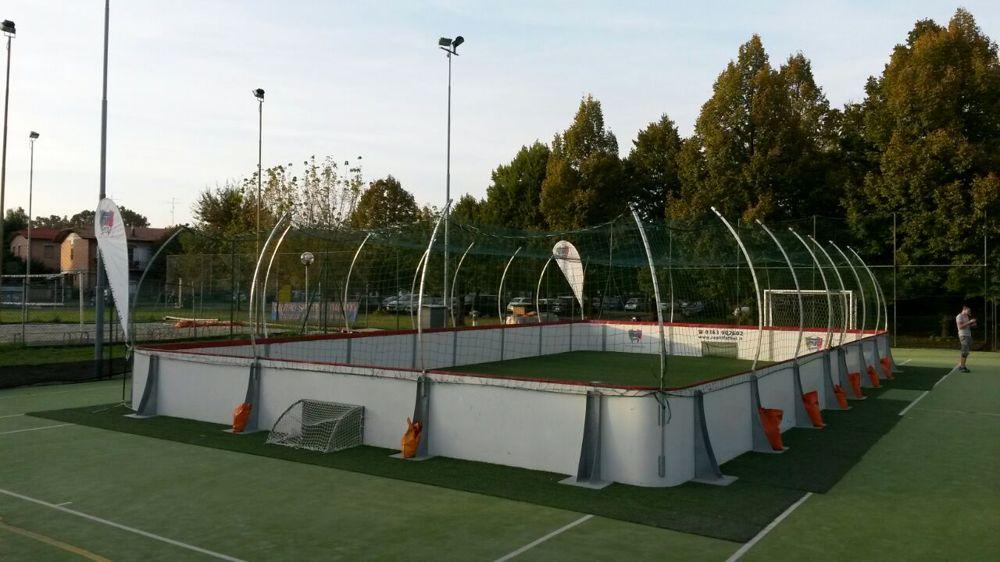 """Nuovo campionato - 3 vs 3 """"sfida nella gabbia"""""""
