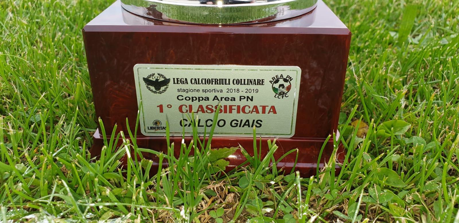 Coppa AreaPN. Trionfa il Calcio Giais
