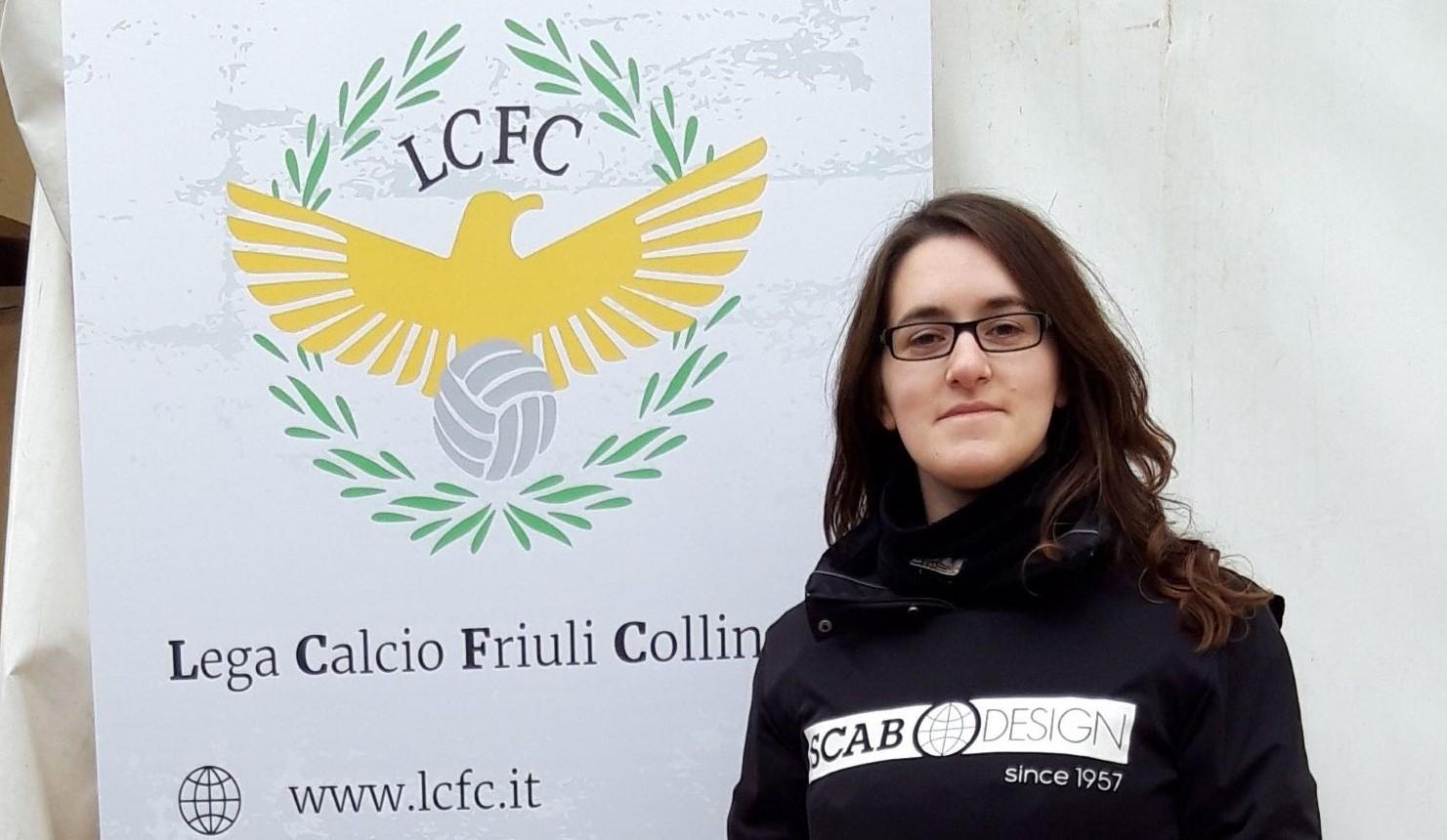 Elisabetta, la videomaker della Lcfc